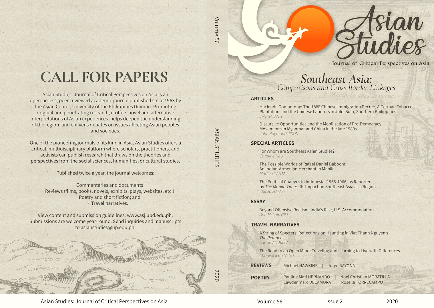 Download FREE: 'Asian Studies' Launches Southeast Asia-Themed Issue