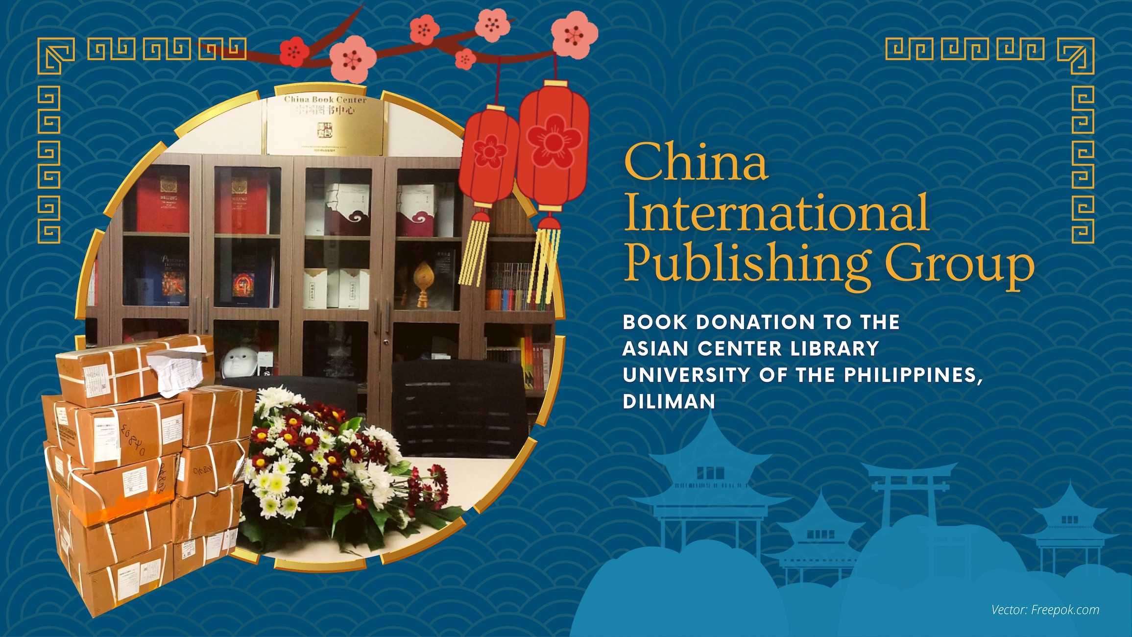 China International Publishing Group Donates Books to the Asian Center Library