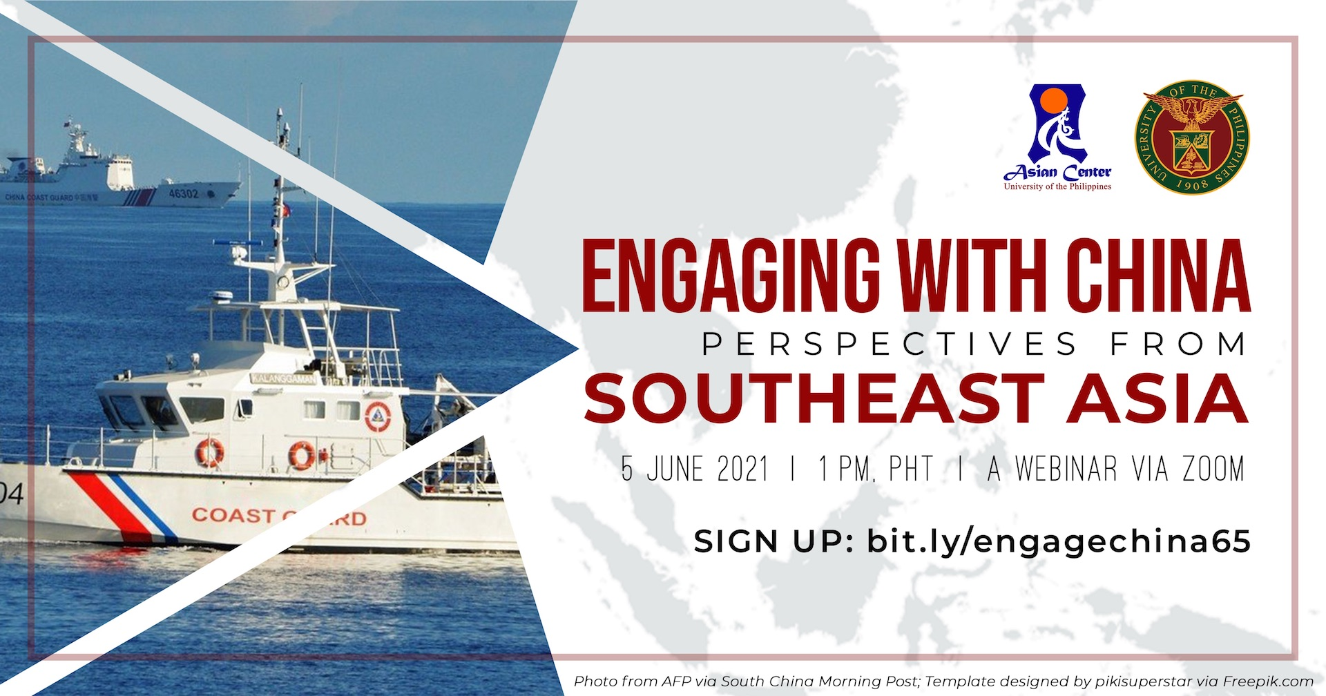 Engaging with China: Views from Southeast Asia | A Forum via Zoom (5 June 2021)