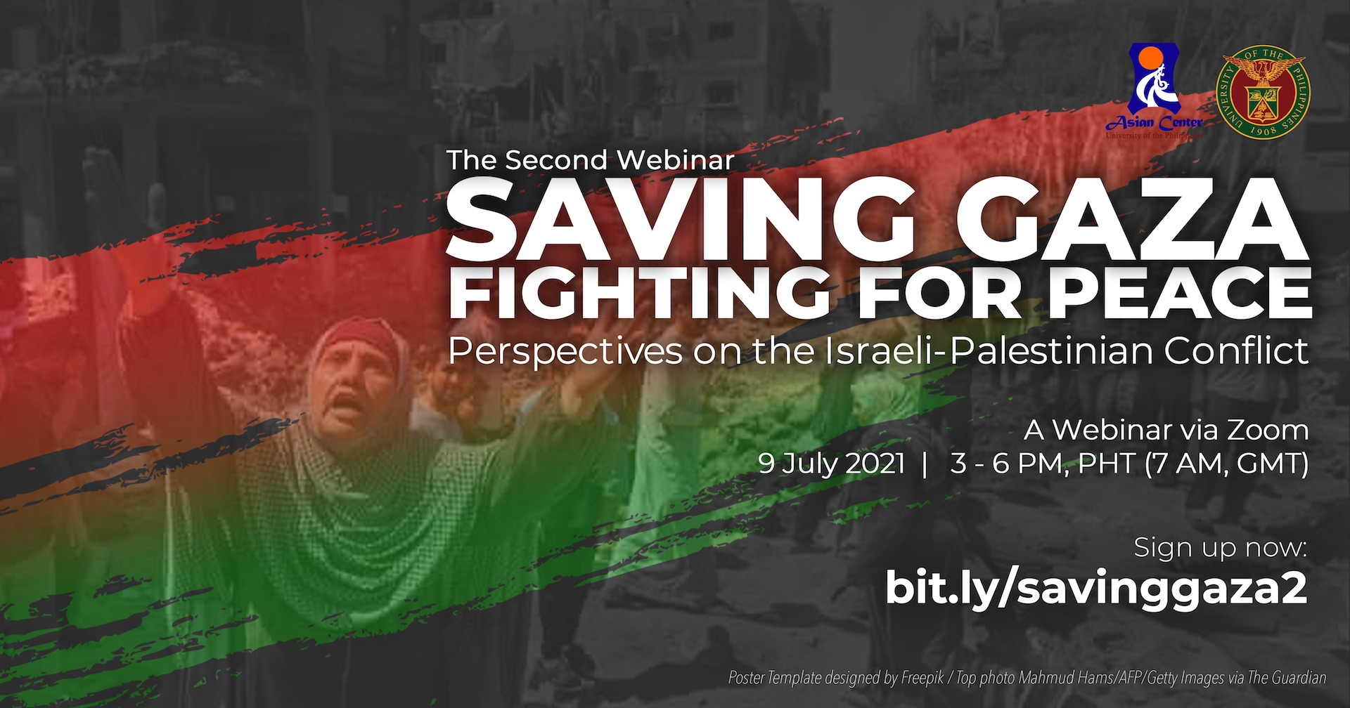 Saving Gaza, Fighting for Peace: Perspectives on the Israeli-Palestinian Conflict | The Second Webinar (2)