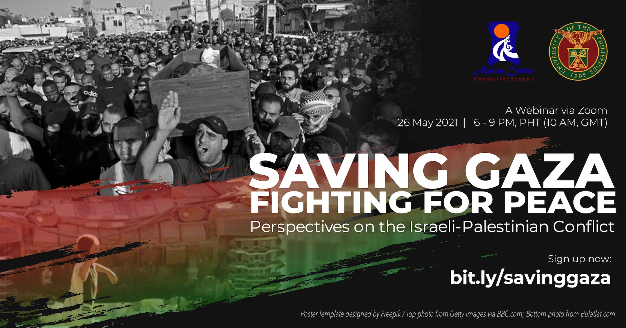 Saving Gaza, Fighting for Peace: Perspectives on the Israeli-Palestinian Conflict  |  A Webinar (26 May 2021)