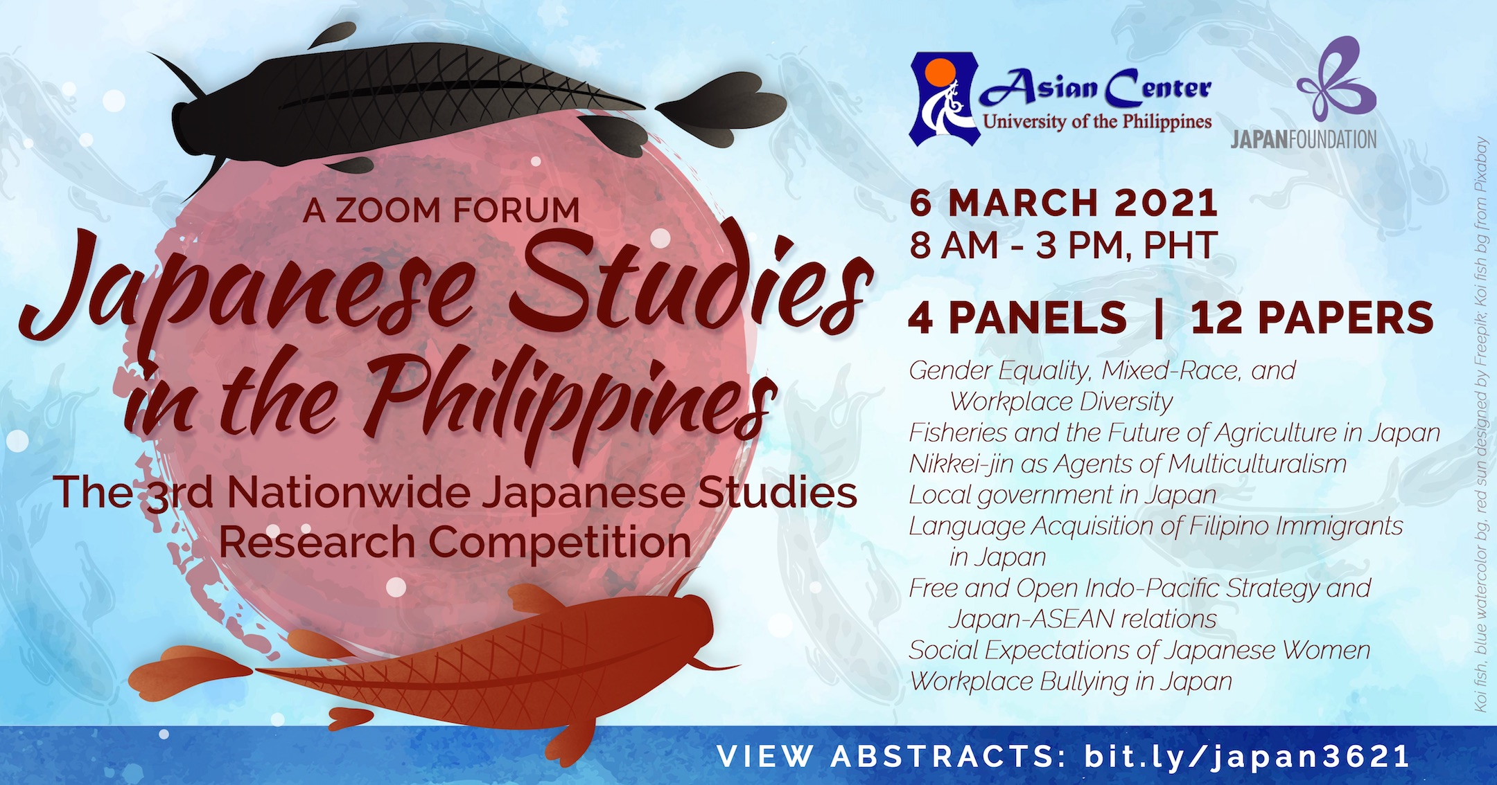 Japanese Studies in the Philippines: A Forum and Nationwide Research Competition Year 3