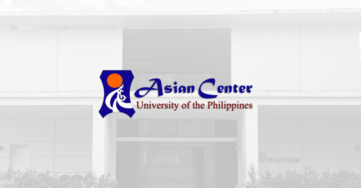 Applications Welcome! Start Your MA in Asian Studies, Philippine Studies