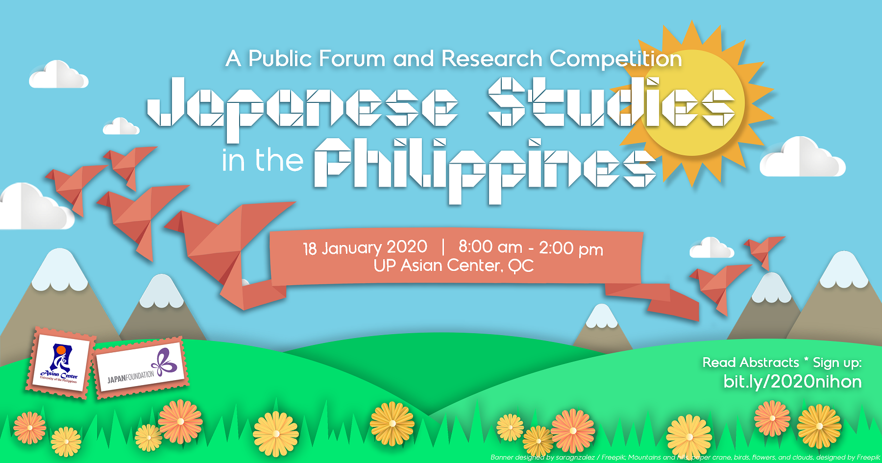 Japanese Studies in the Philippines: A Forum and Research Competition (18 Jan 2020)
