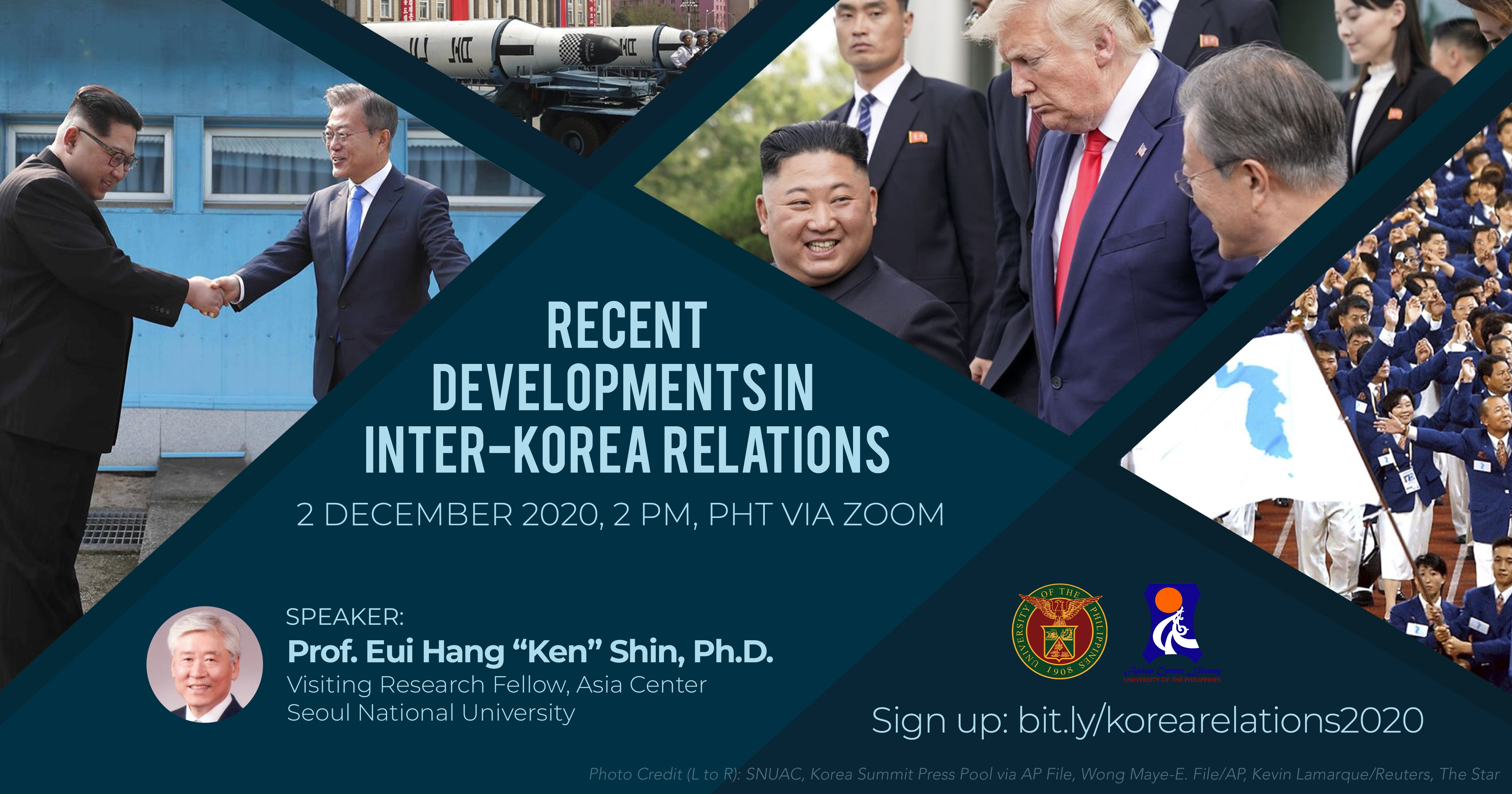 Recent Developments in Inter-Korea Relations | A Webinar (2 Dec 2020)