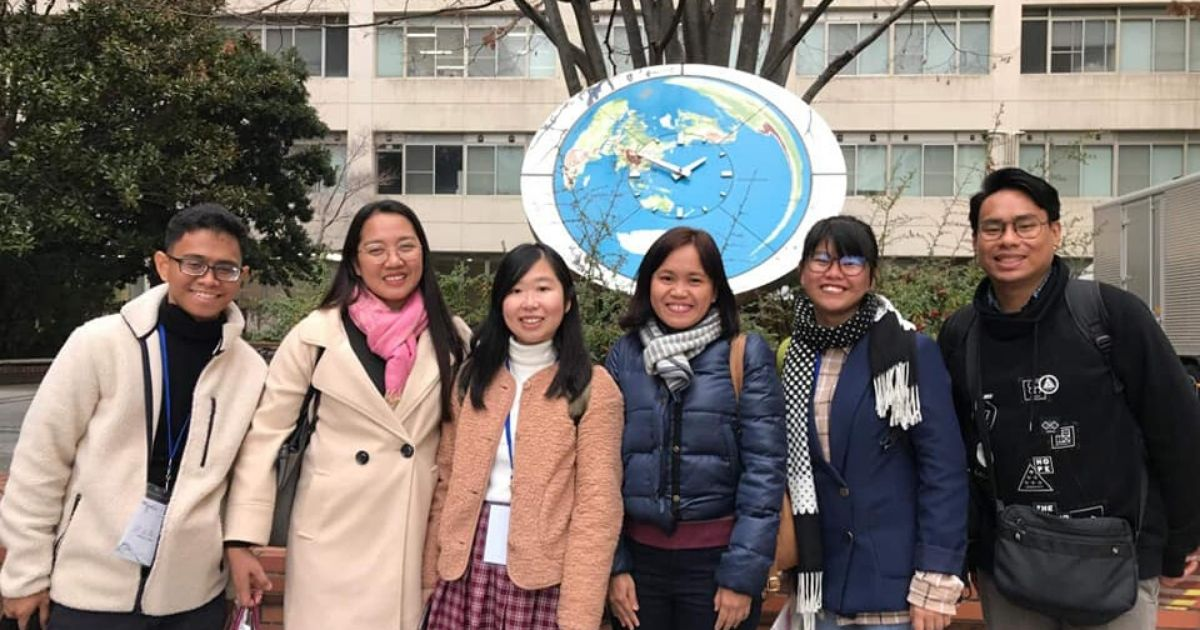 Asian Center's Japan Majors Go On Six-Day Study Tour in Japan