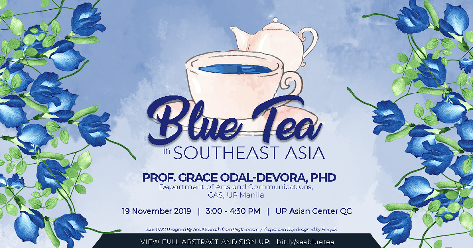 Blue Tea in Southeast Asia: A Lecture and Tea Tasting | 19 November