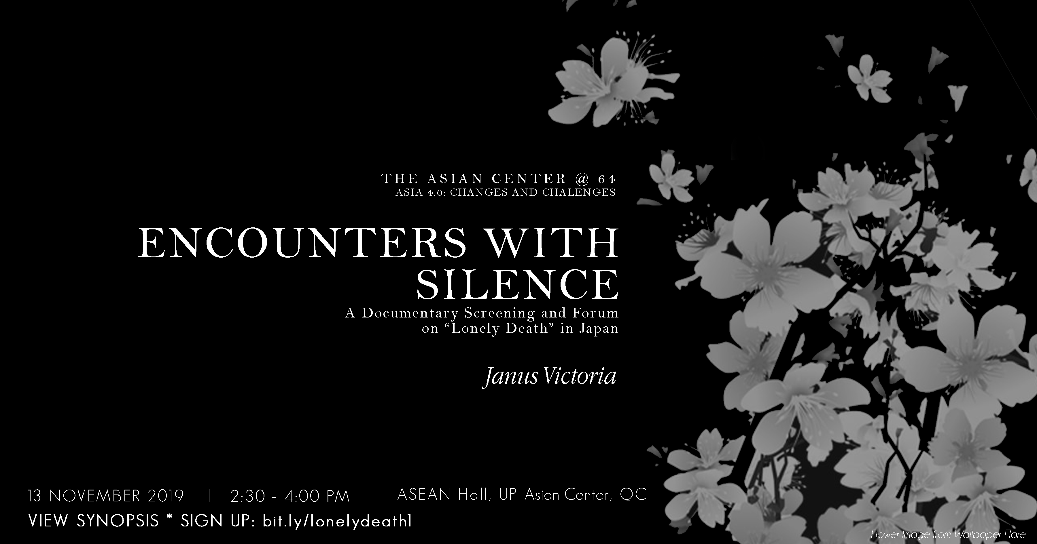 Encounters with Silence | A Screening and Forum on 'Lonely Death' in Japan