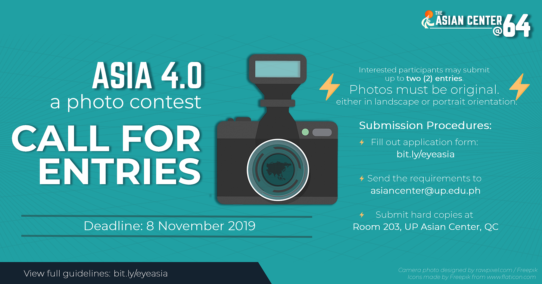 Call for Entries |  Asia 4.0: A Photo Contest
