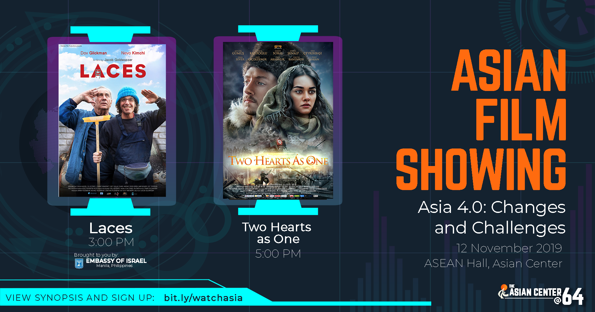 West Asian Films | Free Screenings @ UP Asian Center