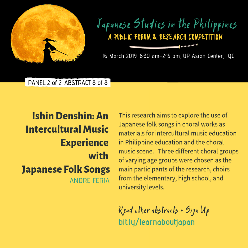Japanese Studies in the Philippines | A Public Forum and