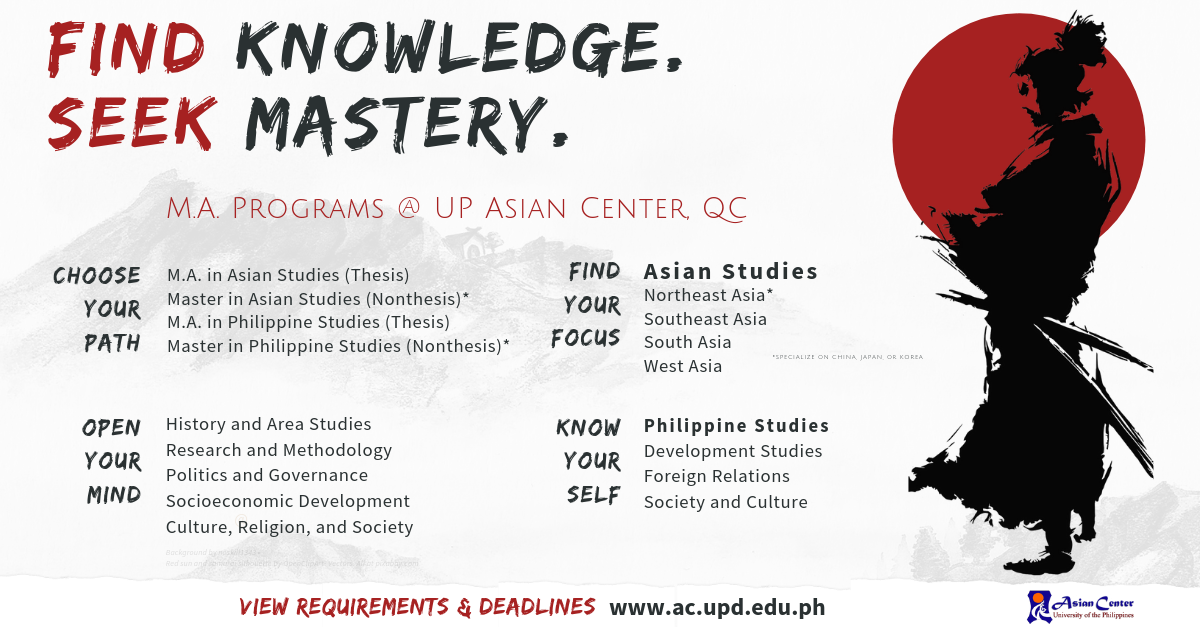 Ph D  in Philippine Studies