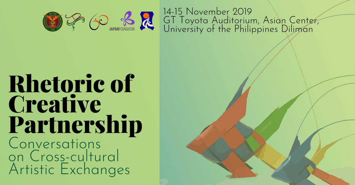 Rhetoric of Creative Partnership: Conversations on Cross-cultural Artistic Exchanges | An International Conference
