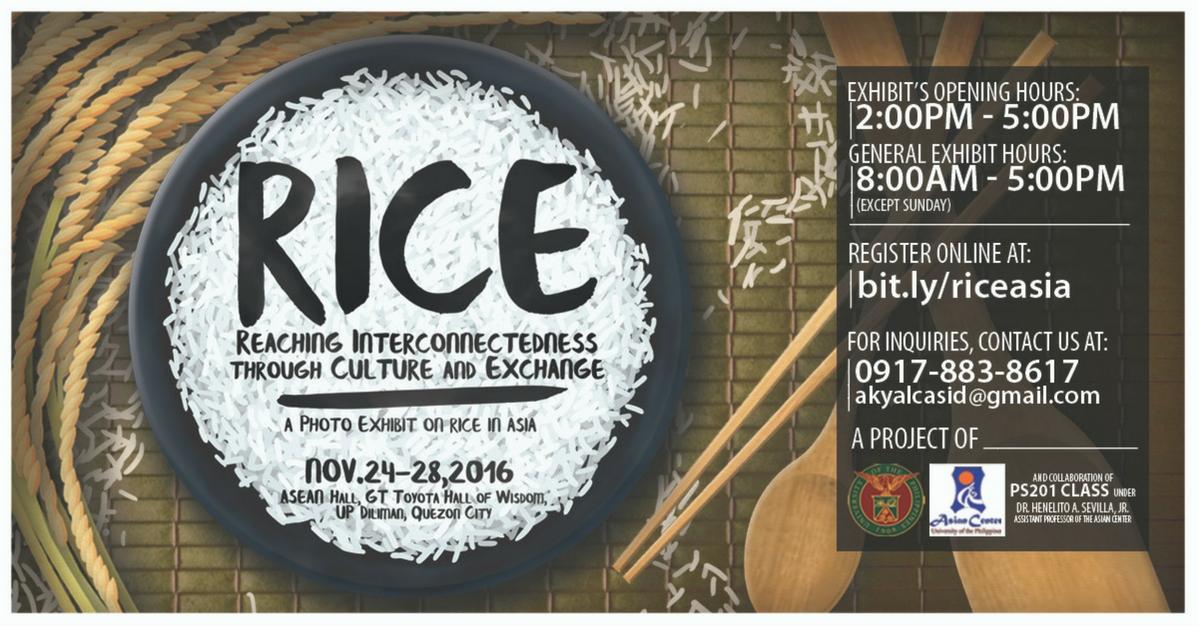 rice exhibit