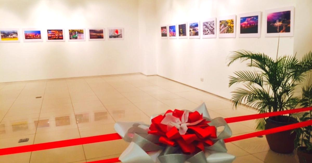 Three Exhibit Halls