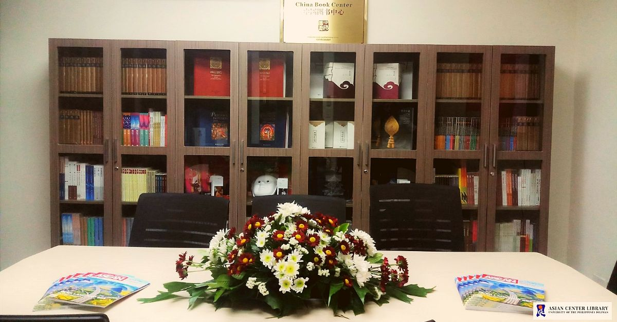With Over 500 Publications on China, The China Book Center Opens @ UP Asian Center