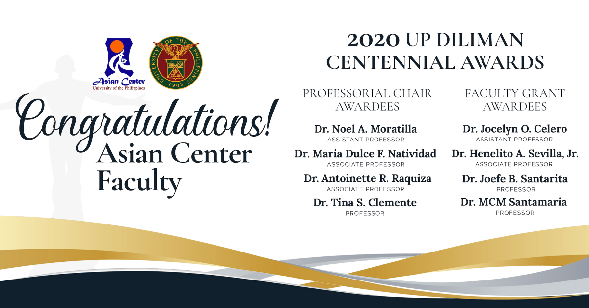 Eight Asian Center Faculty Commended for Research and Mentoring Efforts for 2018–2019