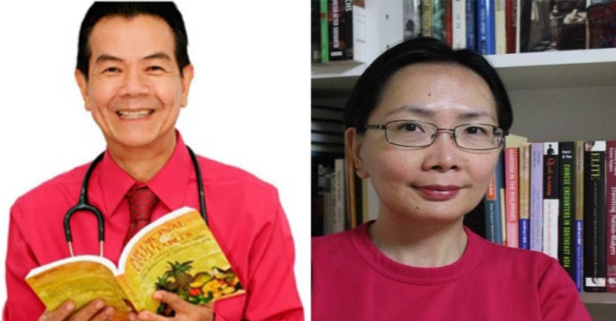 Dr. Jaime Galvez Tan, Dr. Caroline Hau To Address the Graduates of the UP Asian Center and Tri-College