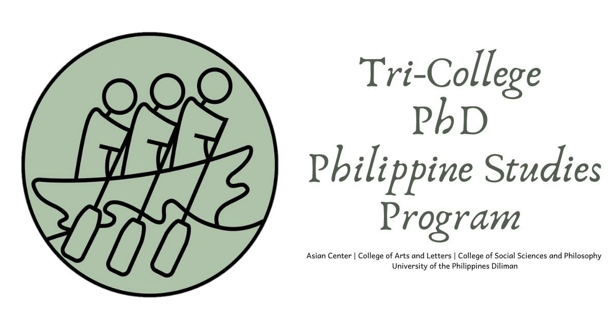 Applications Welcome: PhD in Philippine Studies @ Tri-College, UP Diliman